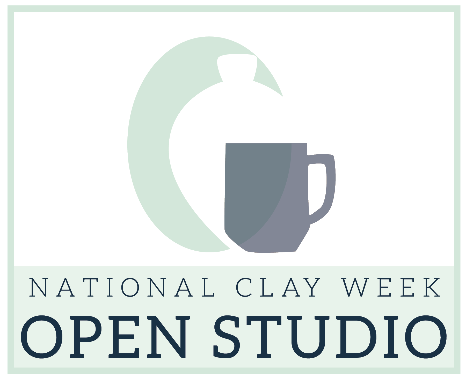 national clay week logo